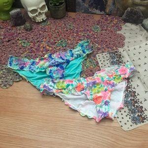 🌸3 for $25🌸 VS Ruffle Cheeky Bikini Bottoms